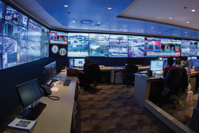 Real Time Crime Center - Video Wall Case Study